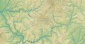 Westerwald (Relief und Gewässer) - Deutsche Mittelgebirge, Serie A-de.png