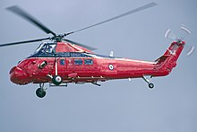 A Westland Wessex HCC.4 of the Queens Flight seen in July 1993