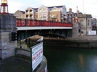 Weymouth Town Bridge Weymouth and Portland, Dorset, DT4