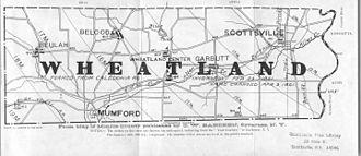 Wheatland, New York - Wheatland in the 19th century