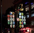Where the Swiss Clock used to be in Leicester square (5152145042).jpg