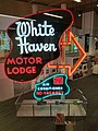 White Haven Motor Lodge sign preserved 2017-07-03.jpg