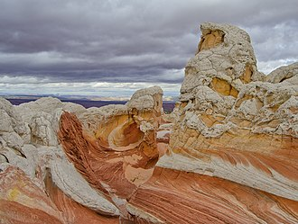 Vermilion Cliffs National Monument - White Pocket area formation