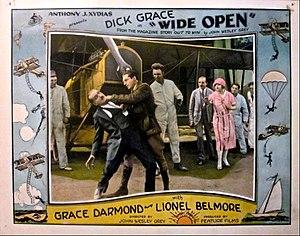 Dick Grace - Grace in the 1927 film Wide Open