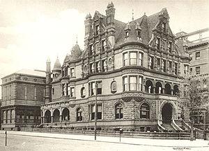 Peter Arrell Browne Widener - Image: Widener Mansion Broad & Girard