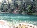 Wieściszowice, Błękitne Jeziorko , (zwane też Szmaragdowym, Niebieskim lub Lazurowym) - fotopolska.eu (281540).jpg