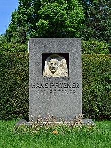 Ehrengrab von Hans Pfitzner am Wiener Zentralfriedhof (Quelle: Wikimedia)