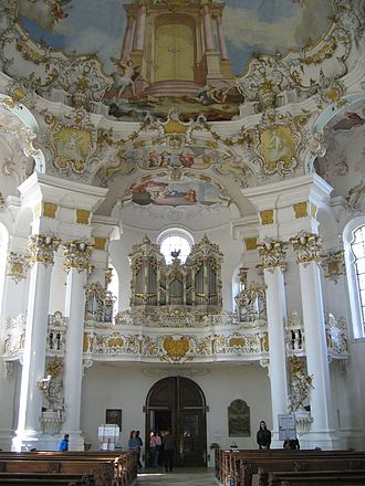 1754 in architecture - Wieskirche