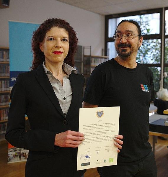 File:Wiki Loves EU award ceremony in Athens, May 2019 (3).jpg