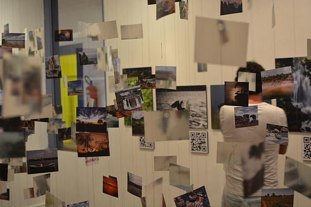 Wiki Loves Earth Brasil 2014 - Exhibition - Photo Cloud | by Rodrigo Padula