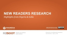 Wikimedia Foundation and Reboot New Readers Research - Nigeria & India Highlights - July 2016.pdf