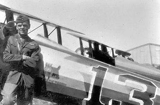 Aerial ramming - Lt Wilbert Wallace White