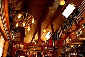 Paraphernalia - Room filled with Wild West paraphernalia