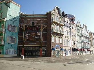 Bally's Atlantic City - The Wild Wild West Casino from the boardwalk.