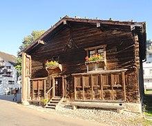 Geburtshaus von Zwingli in Wildhaus (Quelle: Wikimedia)