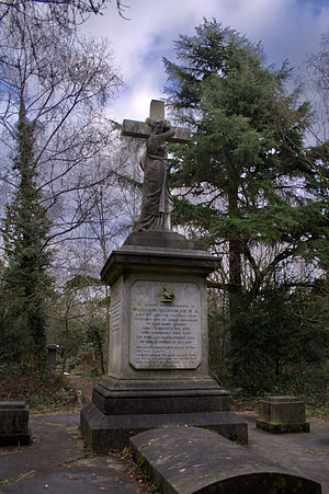 Barnes Cemetery - Memorial to William Hedgman at Barnes Cemetery