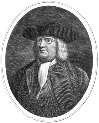Samuel Cranston -  William Penn interceded on behalf of Rhode Island, allowing that it should retain its charter despite recommendations of the Board of Trade and Joseph Dudley