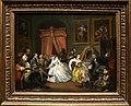William hogarth, marriage a-la-mode, 1743 ca., 04 la toeletta, 1.jpg
