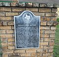 Willis Cigar Factory Texas Historic Marker, N. Bell St., Willis, TX.jpg