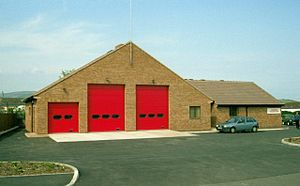 Williton - Williton fire station