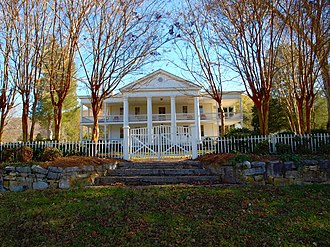 Winston Place (Valley Head, Alabama) - The house in November 2017