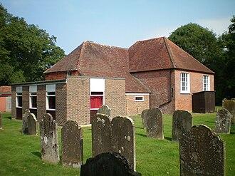 Bethel Strict Baptist Chapel, Wivelsfield - A graveyard surrounds the chapel.