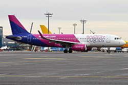 Airbus A320 der Wizz Air UK