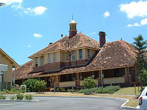 The Park Centre for Mental Health - Image: Wolston Park Hospital Complex administration building (2001)
