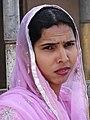 Woman at Golden Temple - Amritsar - Punjab - India (12714539905).jpg