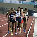 Women's 800m Tintu Lukka 277 Did Not Finish The Race Because Of Fever (cropped).jpg