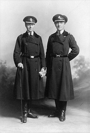 Mary Sophia Allen - Mary Sophia Allen (right) and Margaret Damer Dawson, World War I