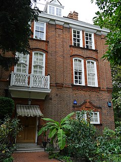 house in Holland Park, London