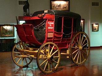 Stage wagon - Overland wagon