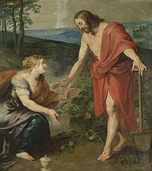 'Noli me tangere': the meeting of Christ and Mary Magdalene