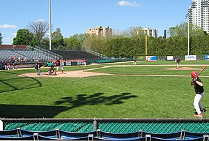 Labatt Park - Image: World's oldest ball park