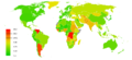 World Inflation rate 2010.png