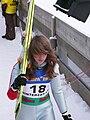 World Junior Ski Championship 2010 Hinterzarten Léa Lemare 031.JPG