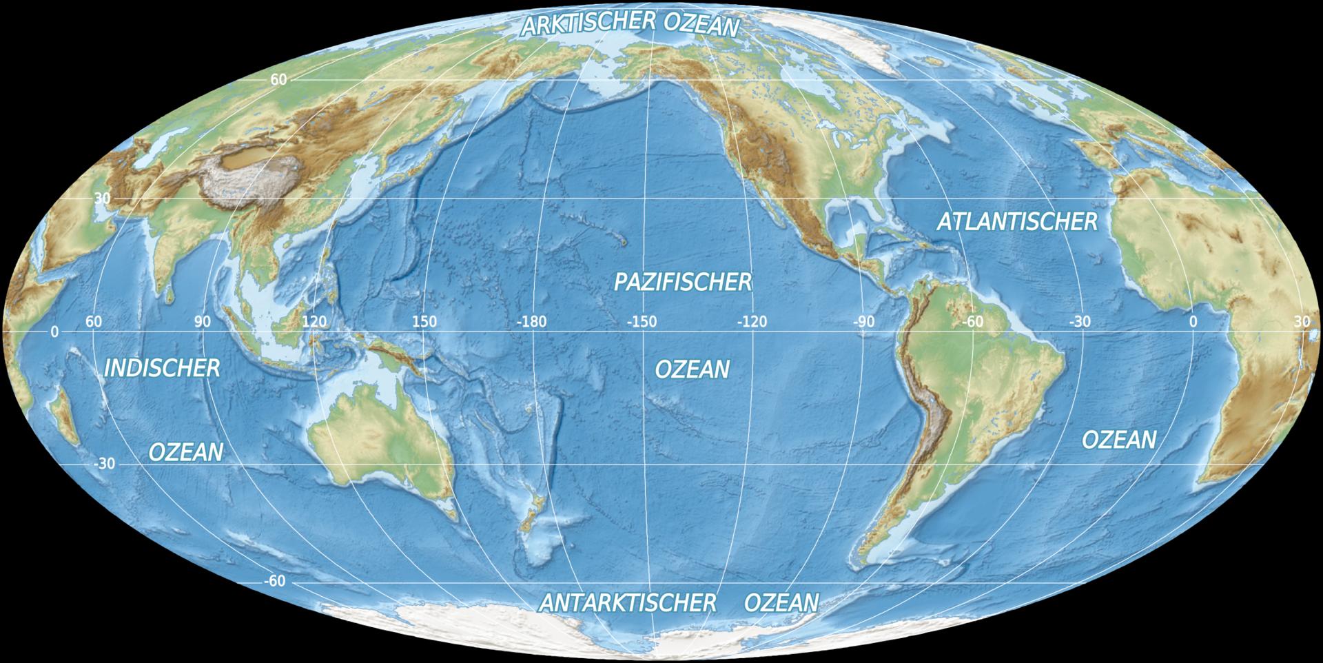 Wie Heißen Die Sieben Weltmeere