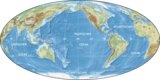 Als Ozean (Plural die Ozeane,