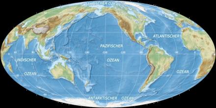 ozeane karte Ozean – Wikipedia