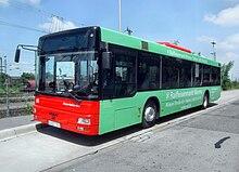 Autobus urbano MAN in servizio a Ludwigshafen am Rhein