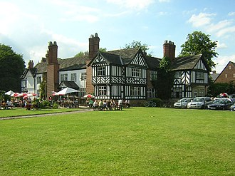 Listed buildings in Worsley - Image: Worsley Old Hall