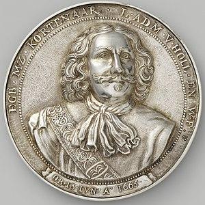 Egbert Bartholomeusz Kortenaer - Image: Wouter Muller Egbert Kortenaer, luitenant admiraal van Holland en West Friesland, gevallen in de slag bij Lowestoft, 1665 NG VG 1 969