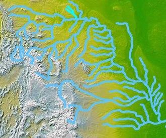Poplar River (Montana–Saskatchewan) - Image: Wpdms nasa topo poplar river montana