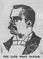 Wray Taylor, Hawaiian Gazette sketch, 1910.jpg