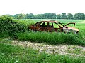 Wrecked car 1 (the other side) - geograph.org.uk - 822154.jpg