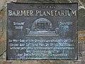 Wuppertal - Barmer Anlagen - Barmer Planetarium-Gedenkstein 02 ies.jpg