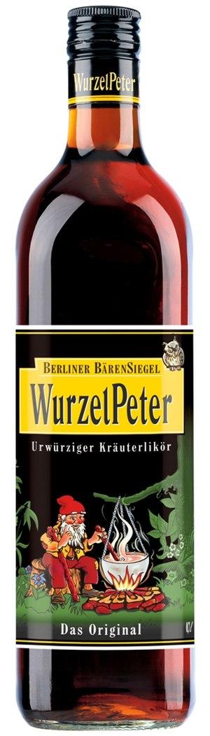 Wurzelpeter - Image: Wurzelpeter Flasche