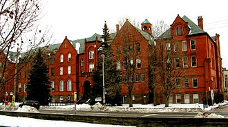 Wycliffe College, Toronto - Northern facade of the main building