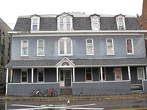 Exchange Street Historic District (Attica, New York) - Image: Wyoming House Exchange Street Historic District Oct 09